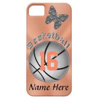 Capas Para iPhone 5 Caso bonito do basquetebol do iPhone 5S para