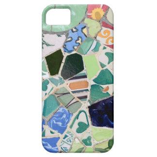 Capas Para iPhone 5 Caso do iPhone 5 dos mosaicos de Guell do parque