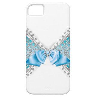 Capas Para iPhone 5 Caso feminino do arco do brilho do jewell