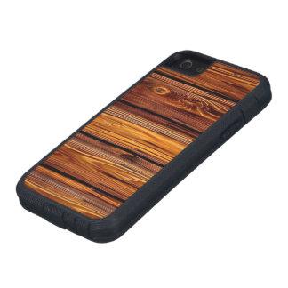 Capas Para iPhone 5 Caso resistente de madeira do iPhone SE/5/5S