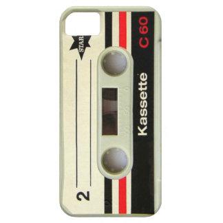 Capas Para iPhone 5 Cassete de banda magnética retro da gaveta nerdy