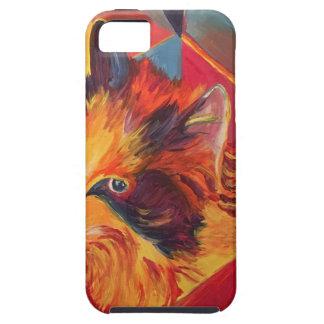 CAPAS PARA iPhone 5 CAT COLORIDO DO POP ART