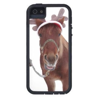 Capas Para iPhone 5 Cervos do cavalo - cavalo do Natal - cavalo