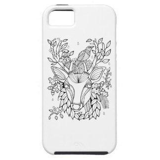Capas Para iPhone 5 Cervos fantásticos da floresta