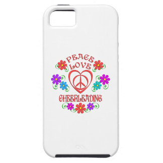 Capas Para iPhone 5 Cheerleading do amor da paz