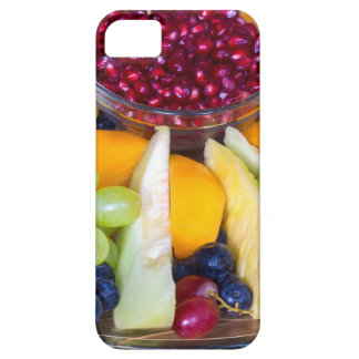 Capas Para iPhone 5 Cheio de vidro da escala de várias frutas frescas