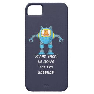 Capas Para iPhone 5 Ciência engraçada do robô do cientista da