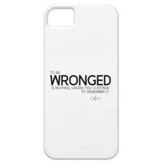 Capas Para iPhone 5 CITAÇÕES: Confucius: Para para ser lesado é nada