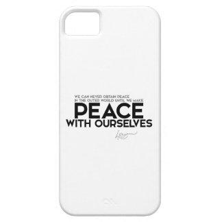 Capas Para iPhone 5 CITAÇÕES: Dalai Lama - paz com nos