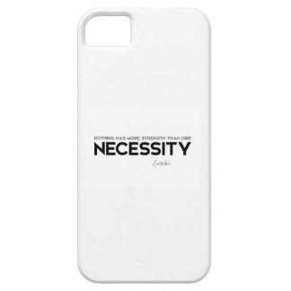 Capas Para iPhone 5 CITAÇÕES: Euripides: Necessidade extremo