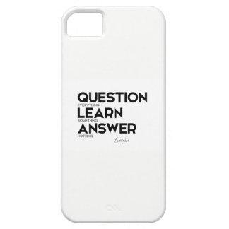 Capas Para iPhone 5 CITAÇÕES: Euripides: Pergunta tudo