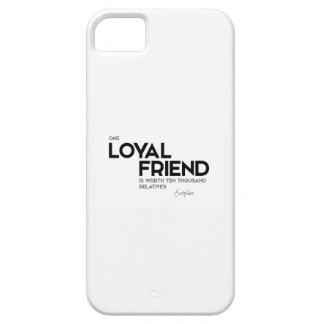 Capas Para iPhone 5 CITAÇÕES: Euripides: Um amigo leal