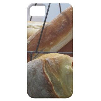 Capas Para iPhone 5 Composição com tipos diferentes de pão cozido