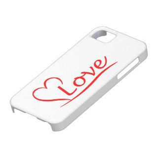 Capas Para iPhone 5 Coração com amor