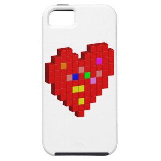 Capas Para iPhone 5 coração de 8 bits