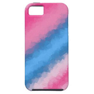 Capas Para iPhone 5 Cores do arco-íris do algodão doce