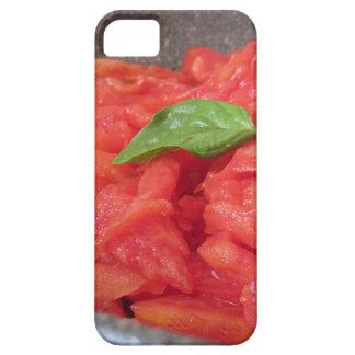 Capas Para iPhone 5 Cozinhando o molho de tomate caseiro usando o
