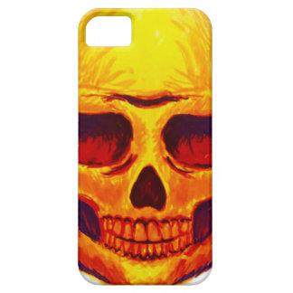 Capas Para iPhone 5 Crânio do esboço