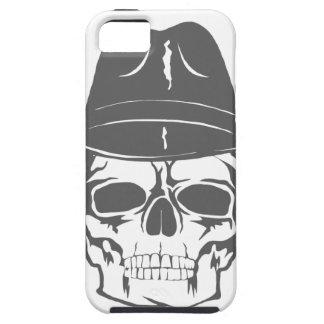 Capas Para iPhone 5 Crânio do vaqueiro com chapéu