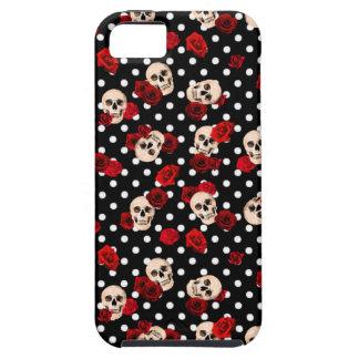Capas Para iPhone 5 Crânios e rosas