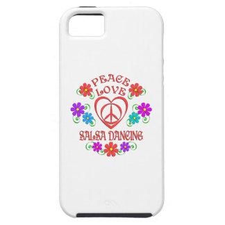 Capas Para iPhone 5 Dança da salsa do amor da paz