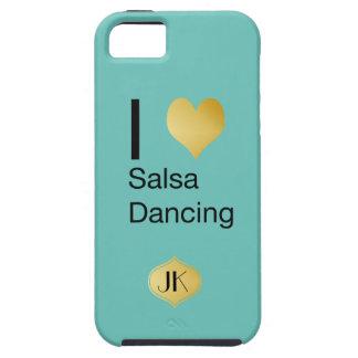 Capas Para iPhone 5 Dança Playfully elegante da salsa do coração de I