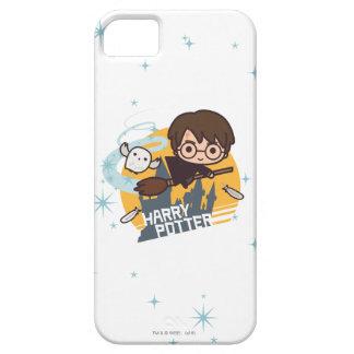 Capas Para iPhone 5 Desenhos animados Harry e vôo de Hedwig após