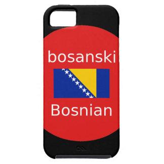 Capas Para iPhone 5 Design bosniano da língua