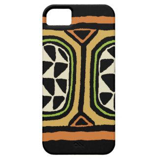Capas Para iPhone 5 Design de matéria têxtil de Kuba do africano
