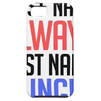 Capas Para iPhone 5 design engraçado, do nome sobrenome sempre com