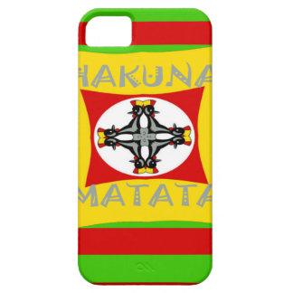 Capas Para iPhone 5 Design surpreendente bonito de Hakuna Matata