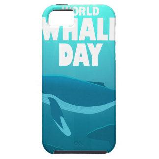 Capas Para iPhone 5 Dia da baleia do mundo - dia da apreciação