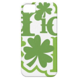 Capas Para iPhone 5 Dia de São Patrício, design irlandês de Patrick de
