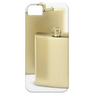 Capas Para iPhone 5 Duas garrafas ancas douradas