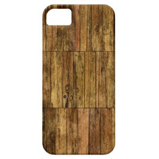 Capas Para iPhone 5 Efeito de madeira do painel dos conselhos de