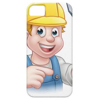 Capas Para iPhone 5 Eletricista dos desenhos animados que guardara a