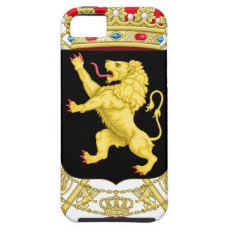 Capas Para iPhone 5 Emblema belga - brasão de Bélgica