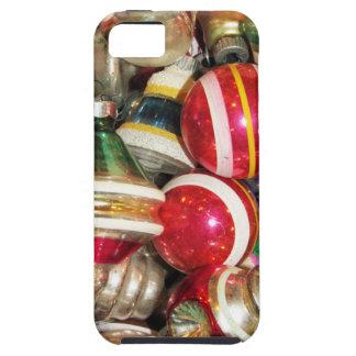 Capas Para iPhone 5 Enfeites de natal de vidro antigos do vintage