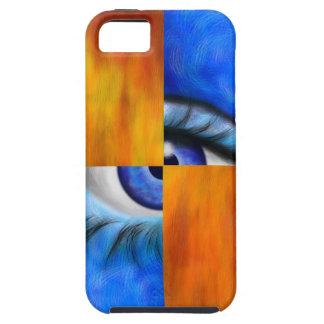 Capas Para iPhone 5 Ersebiossa V1 - olho escondido