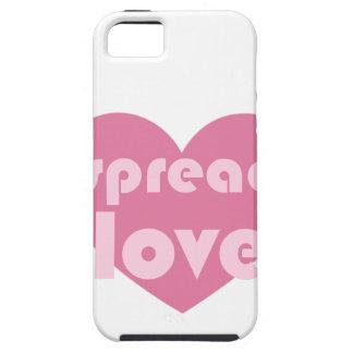 Capas Para iPhone 5 Espalhe o amor (geral)