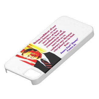 Capas Para iPhone 5 Estando seguro de nosso próprio futuro - Jimmy