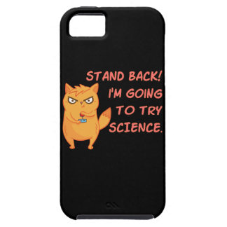 Capas Para iPhone 5 Esteja para trás indo tentar o gatinho engraçado