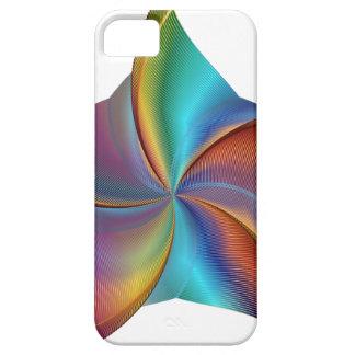 Capas Para iPhone 5 Estrela de roda de prisma colorido do arco-íris