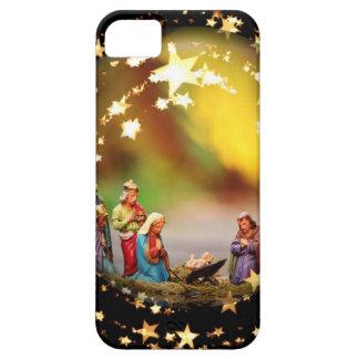 Capas Para iPhone 5 Estrelas infantis de Jesus da Virgem Maria da ucha