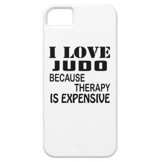 Capas Para iPhone 5 Eu amo o judo porque a terapia é cara