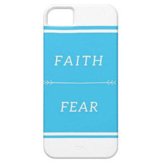Capas Para iPhone 5 Fé sobre o caso do iPhone SE/5/5s do medo