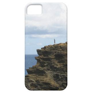 Capas Para iPhone 5 Figura solitário em um penhasco