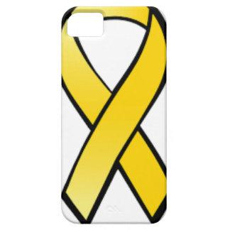Capas Para iPhone 5 Fita amarela da consciência
