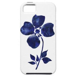 Capas Para iPhone 5 Flor azul