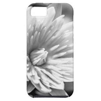 Capas Para iPhone 5 Flor preto e branco